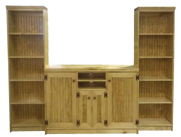 pine entertainment center handmade custom pine entertainment center sawdust city furniture