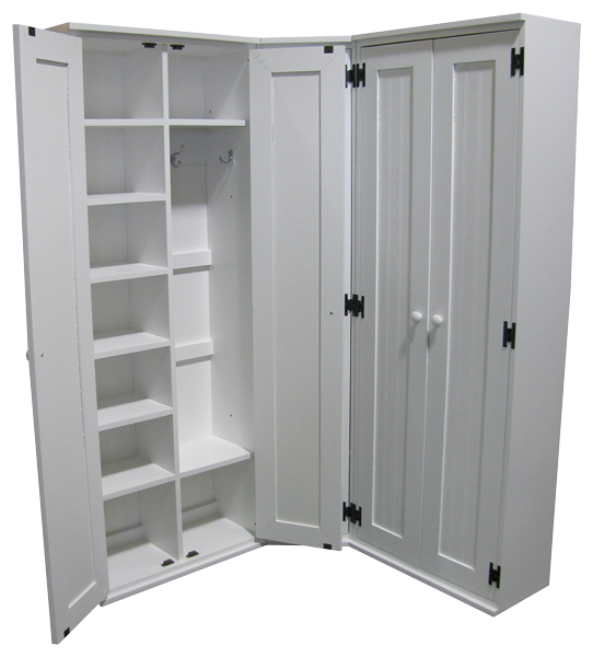 CC-136-02  sc 1 st  Sawdust City Custom Furniture & Custom Corner Lockers with Doors u2013 Sawdust City Custom Furniture