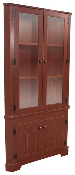 Custom Dining Room Corner Hutch